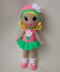 Кукла амигуруми Наташка-Ромашка