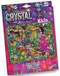 БЕЛОСНЕЖКА мозаика по номерам из кристаллов