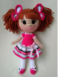 Амигуруми кукла вязаная крючком