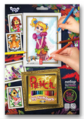 Разукрашки для детей в наборе с карандашами купить