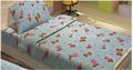Детский постельный комплект BOBI голубой