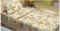Детский постельный комплект DOGI бежевый