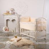 Детский комплект в кроватку ПРИНЦЕССА из сатина 3