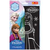 """Гравюра """"Эльза и Анна"""" Frozen"""