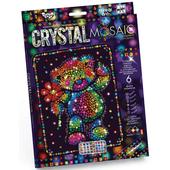 МИШКА из цветных кристаллов