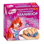 Набор для дизайна ногтей Стильный маникюр Блум