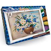 Вышивка бисером и лентами - картина своими руками купить