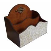 Органайзер для косметики деревянный