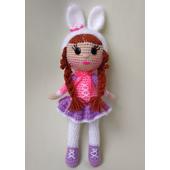 Вязаная кукла амигуруми для девочки купить