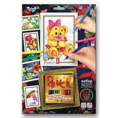 Раскраска для девочек набор с карандашами по номерам PBN-01-05