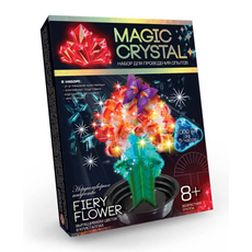 Набор выращиваем ЦВЕТОК в кристаллах