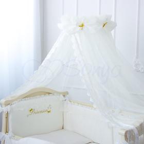 Детский комплект в кроватку ПРИНЦЕССА из сатина 2