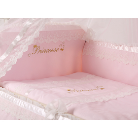 Комплект в кроватку ПРИНЦЕССА из поплина 2