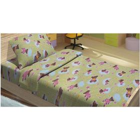 Детский постельный комплект BOBI зеленый