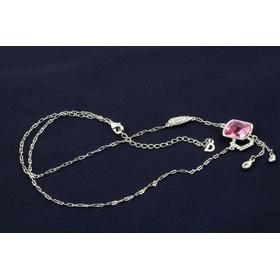 Колье Сваровски ИСКРА розовое купить недорого