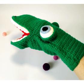 Мягкая игрушка - рукавица КРОКОДИЛ купить