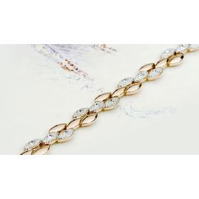 Купить браслет из белого золота ЩЕДРОСТЬ