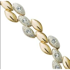 Ожерелье ЩЕДРОСТЬ с камнями Сваровски