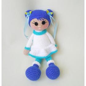 Вязаная кукла ручной работы СЕВЕРНАЯ ДЕВОЧКА купить Одесса