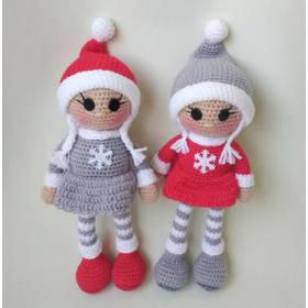 Кукла амигуруми СНЕЖИНКА купить Киев