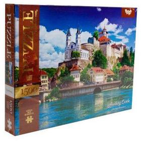 Пазл Замок Аарбург Швейцария 1500 элементов купить недорого