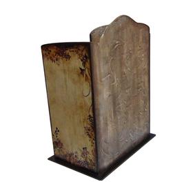 Комод - шкатулка для украшений из дерева ЦВЕТОЧНЫЙ УЗОР купить