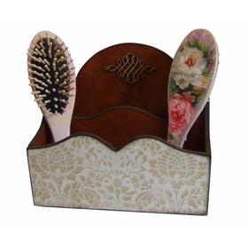 Купить органайзер для косметики деревянный