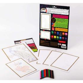 Раскраски для детей карандашами PBN-01-04 купить