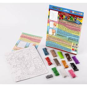 Набор для рисования цветным песком ЕНОТ купить