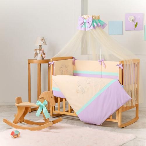 Постельный комплект Funny Bunny фиолетовый 1
