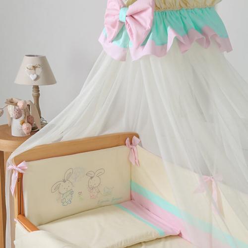 Постельный комплект Funny Bunny розовый 3