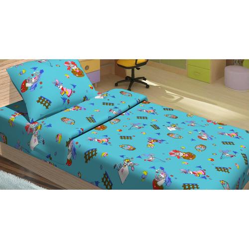 Детский постельный комплект JIMI голубой