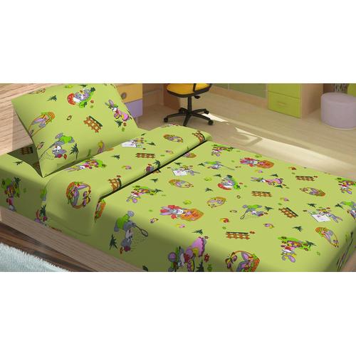 Детский постельный комплект JIMI салатовый
