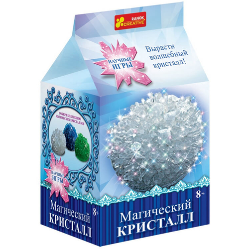 БЕЛЫЙ КРИСТАЛЛ - опыты с кристаллами