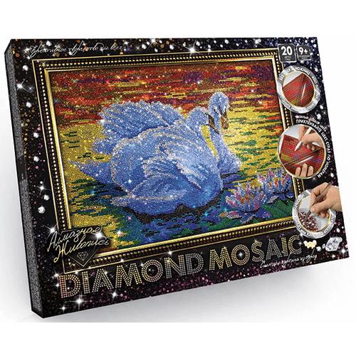 ЛЕБЕДИ набор алмазной вышивки