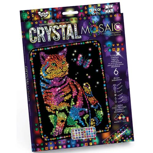 Набор для рукоделия КОТ из цветных кристаллов