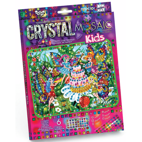 ФЕИ И ТОРТ мозаика из кристаллов