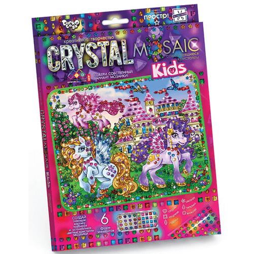 ПОНИ И ЗАМОК аппликация кристаллами
