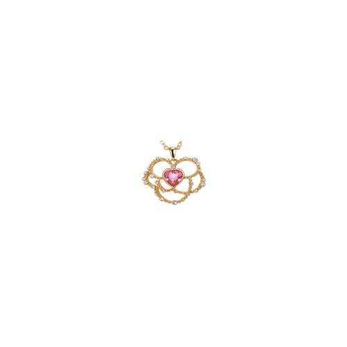 """Кулон """"Цветок - сердце"""""""