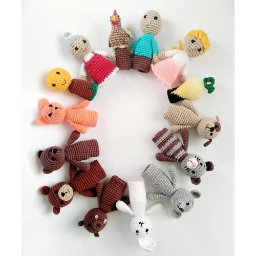 Кукольный пальчиковый театр 4 СКАЗКИ