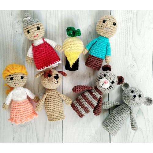 Кукольный пальчиковый театр РЕПКА