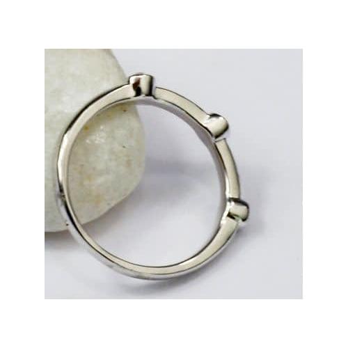 """Кольцо """"Серебрянные капли"""" с кристаллами Сваровски"""