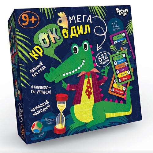 Настольная игра Мега Крокодил