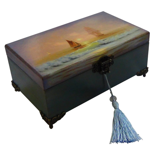 Шкатулка для хранения денег ПАРУС
