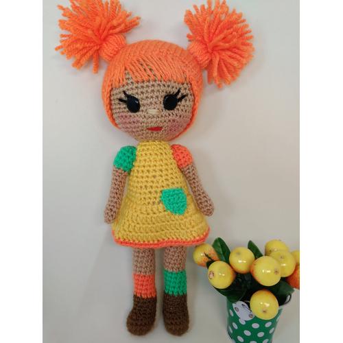 Амигуруми кукла ОЧАРОВАШКА
