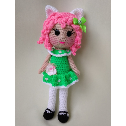 Вязаная кукла ручной работы купить Украина