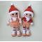 Вязаные куклы КАЙ и ГЕРДА купить
