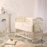 Детский комплект в кроватку ПРИНЦЕССА из сатина ванильный 3