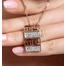 ВЕРСАЧЕ набор бижутерии с камнями Сваровски