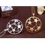 Комплект бижутерия Звездное небо gold с камнями Сваровски